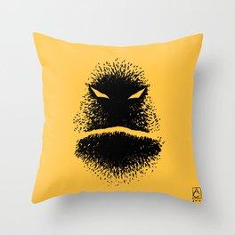Black June, a good friend of mine Throw Pillow