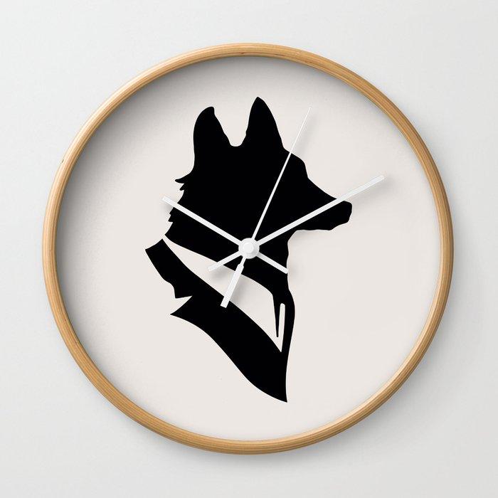 Monsieur Renard  Mr Fox - Animal Silhouette