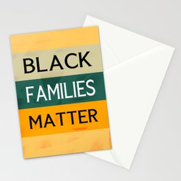 Black Families Matter Stationery Cards