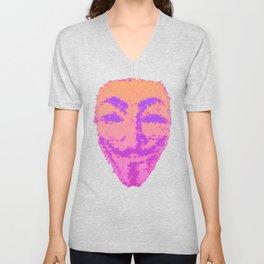 She's Anonymous Unisex V-Neck