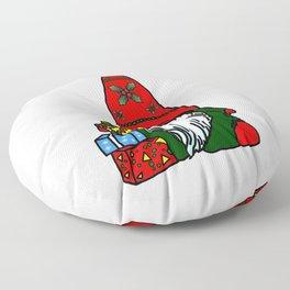 Yule Gnome Floor Pillow