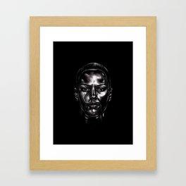 Black Matters Framed Art Print
