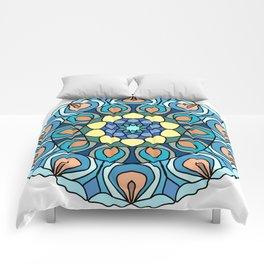 nautical mandala Comforters
