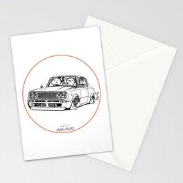 Crazy Car Art 0219 Stationery Cards