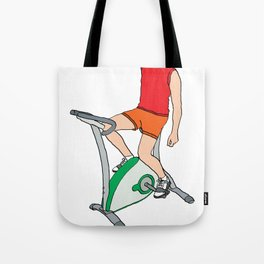 Duh, SPINNING! Tote Bag