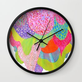 Growing Together Wall Clock