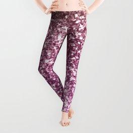 Sparkling BLACKBERRY CHAMPAGNE Lady Glitter #1 #decor #art #society6 Leggings