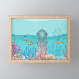 WATER DOG Framed Mini Art Print