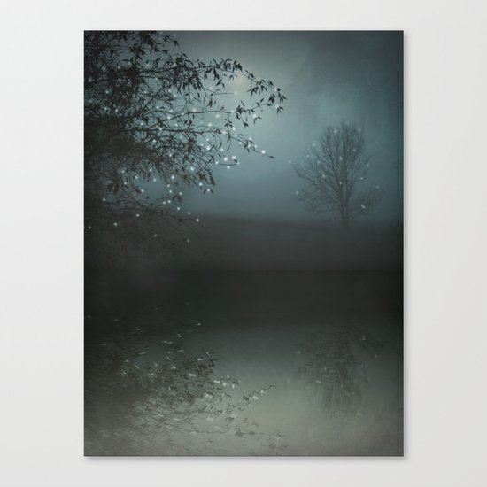 Song of the Nightbird Canvas Print