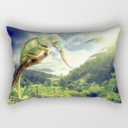 cameleophant Rectangular Pillow