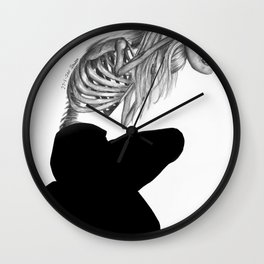 when masks fall Wall Clock