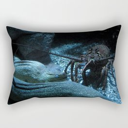 Lobster and the Eels Rectangular Pillow