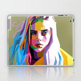 Billie Eilish - pop art Laptop & iPad Skin