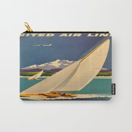 Vintage poster - Pacific Northwest Carry-All Pouch