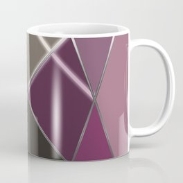 Mosaic tiled glass with a laser show Coffee Mug