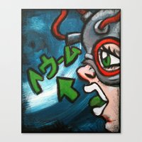 doom Canvas Prints featuring Doom by Doom