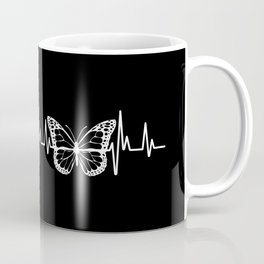 Monarch Butterfly Heartbeat, Save the Monarchs Coffee Mug