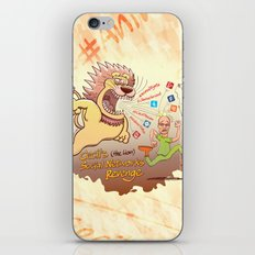 Cecil the Lion's Social Networks Revenge iPhone & iPod Skin