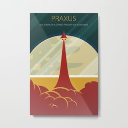 Praxus Launch Metal Print