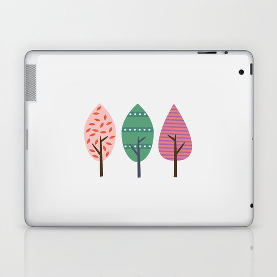 Easter trees Laptop & iPad Skin