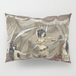 Midnight Circus: Sword Dancers Pillow Sham