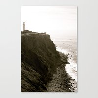 lighthouse Canvas Prints featuring Lighthouse by Rebecca