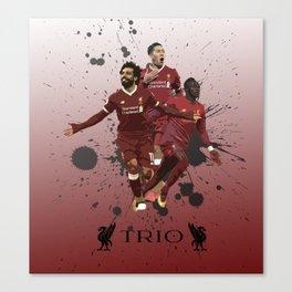 Liverpool trio attack Canvas Print