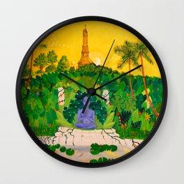 Nirvana At Sunset Wall Clock