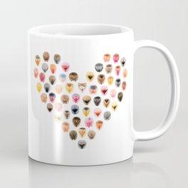 Vulva Heart Coffee Mug