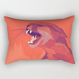 Puma Concolor Rectangular Pillow