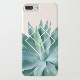 Agave geometrics - peach iPhone Case