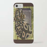 monty python iPhone & iPod Cases featuring Python - Thor by ArtLovePassion