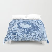 gypsy Duvet Covers featuring Gypsy by albertsurpower