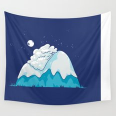 Cozy Mountain Wall Tapestry