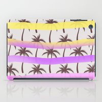 palm trees iPad Cases featuring Palm Trees by Ornaart