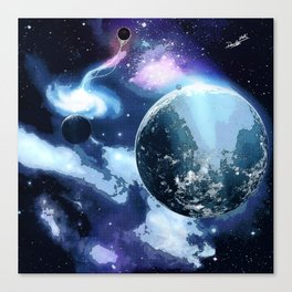 Unknown Sector Canvas Print
