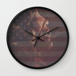 American Horror Story Flag Wall Clock