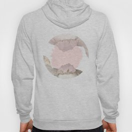 Pale Pink on Mountains Hoody