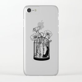 The Loner Clear iPhone Case