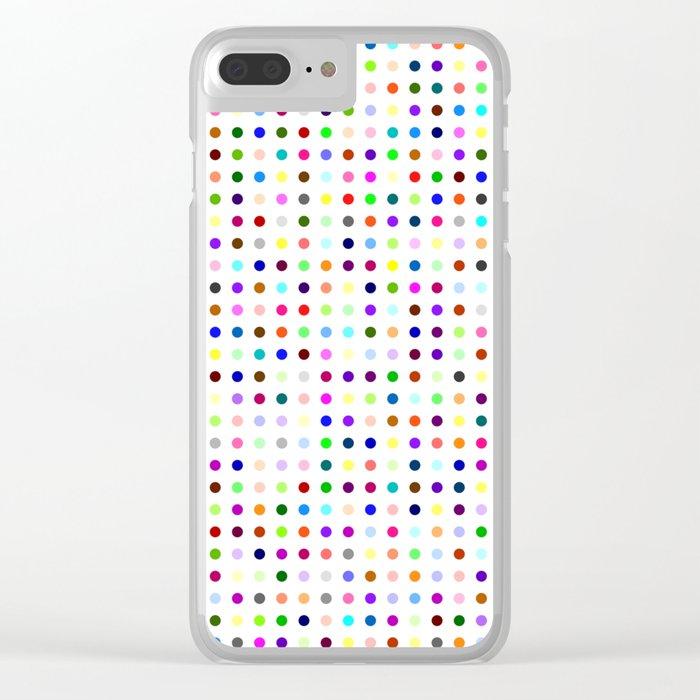 Big Hirst Polka Dot Clear iPhone Case