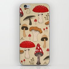 Mushrooms iPhone & iPod Skin