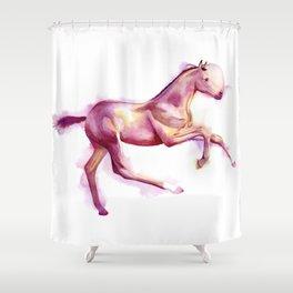 Foal Running Shower Curtain