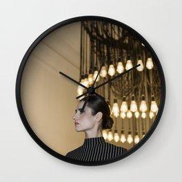 Pleiades Lighting Wall Clock