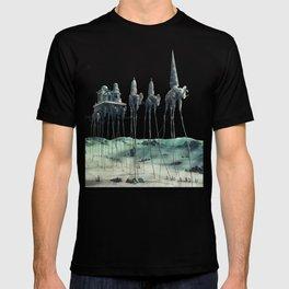 -Caravan Dali- GREEN T-shirt