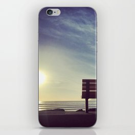 Sunset on Coronado Beach, California iPhone Skin