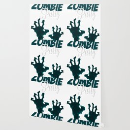 Zombie Party Wallpaper
