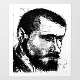 Portait2 Art Print