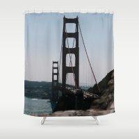 bridge Shower Curtains featuring Bridge by HMS James
