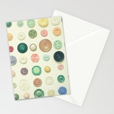 The Button Collection Stationery Cards