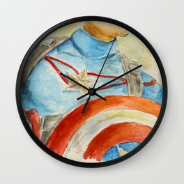 Capt America - Fictional Superhero Wall Clock